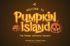 Pumpkin Island - Halloween Typeface Product Image 1