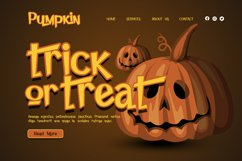 Pumpkin Island - Halloween Typeface Product Image 4