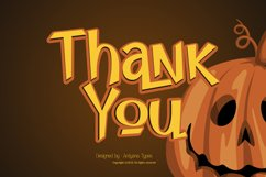 Pumpkin Island - Halloween Typeface Product Image 2