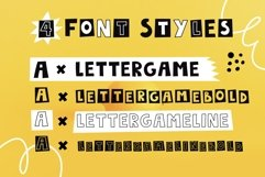 LetterGame - Kids font family Product Image 2