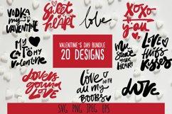 Valentine SVG bundle. 20 designs Product Image 5