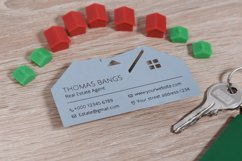 Real estate business card template cutting file Product Image 2
