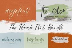 The Brush Font Bundle Product Image 1
