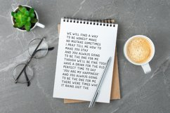 Note Today - Handwritten Font Product Image 6