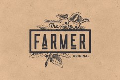 Nomads -The Farmer Original Typeface Product Image 3