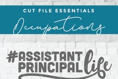 Assistant principal svg, Asst principal svg, vice principal Product Image 2