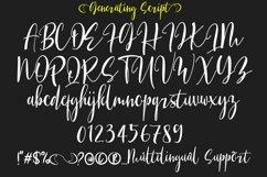 Generating Script Font Product Image 2