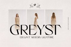 Greyst - Elegant Ligature font Product Image 1