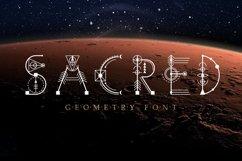 Web Font Sacred Geometry Font Product Image 1