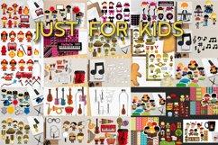 Kids clip art - Graphics and Illustrations Huge Bundle Product Image 3