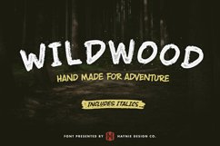 Wildwood Dry Brush Font Product Image 1