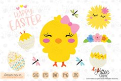 Chick Set Easter - Graphics Product Image 1