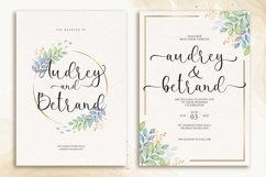 Shanley a Romantic Calligraphy Font Product Image 2