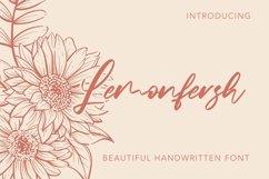 Web Font Lemonfresh - Handwritten Font Product Image 1