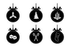 Christmas ball svg, Christmas Ornament SVG Bundle Product Image 3