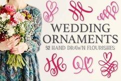 Wedding Ornaments - A Fun Flourish Font Product Image 1