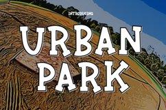 Urban Park a Fun Sports Font Product Image 1