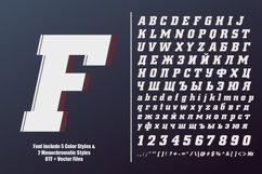 OTF color font - Fargo Product Image 6