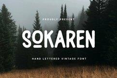 Web Font Sokaren Font Product Image 1