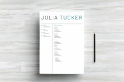 Professional & Creative Resume Template Product Image 6