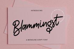 Blammingst Script Font Product Image 1