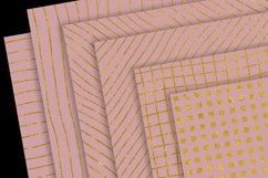 Gold Patterns on Blush Product Image 2