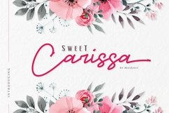 Sweet Carissa - Font Duo Product Image 1