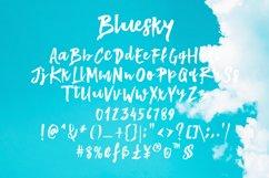 Bluesky Brush Font Product Image 6
