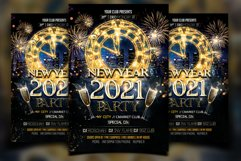 New Year Flyer Product Image 1