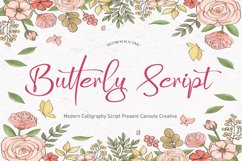 Butterly Script Product Image 1