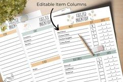 Kitchen Inventory Bundle - Editable Product Image 5