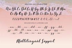 Meuthia - Modern Calligraphy Product Image 5
