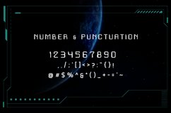 Exo Space Futuristic Display Font Product Image 2
