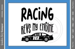 Racing SVG, Racing Revs My Engine Product Image 2