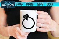 Wedding Ring SVG, PNG, EPS, DXF Product Image 1