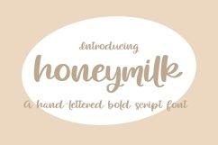 Web Font Honeymilk Product Image 1