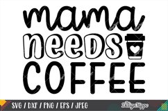 Coffee Mom Life SVG Bundle, 10 Designs SVG DXF PNG Cut Files Product Image 2