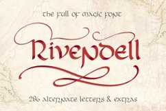 Rivendell. The full of magic font. Product Image 1
