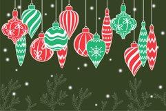Christmas toys, Christmas ornament svg Product Image 4