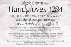 Black crown Font Product Image 2