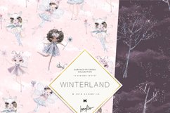 Winter Fairies Patterns Product Image 6