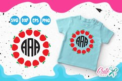 Back to school Monograms frames set, 1st day of school  Product Image 2