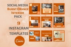 Instagram Post Template- Fall themed Interior & Real Estate Product Image 1