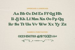 Margin - Retro Serif Font Product Image 3