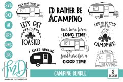 Camping SVG Bundle - Camping Bucket SVG - Camper SVG Product Image 1