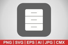 Vector Archive Icon Product Image 1