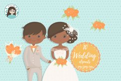 Wedding characters clipart Product Image 2