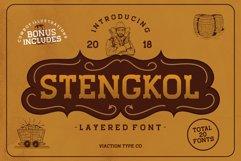 STENGKOL - 20 Font Family Product Image 1