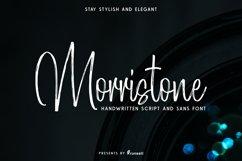 Morristone Script & Sans Product Image 1