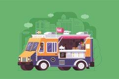 Street Food Trucks and Vans Product Image 4